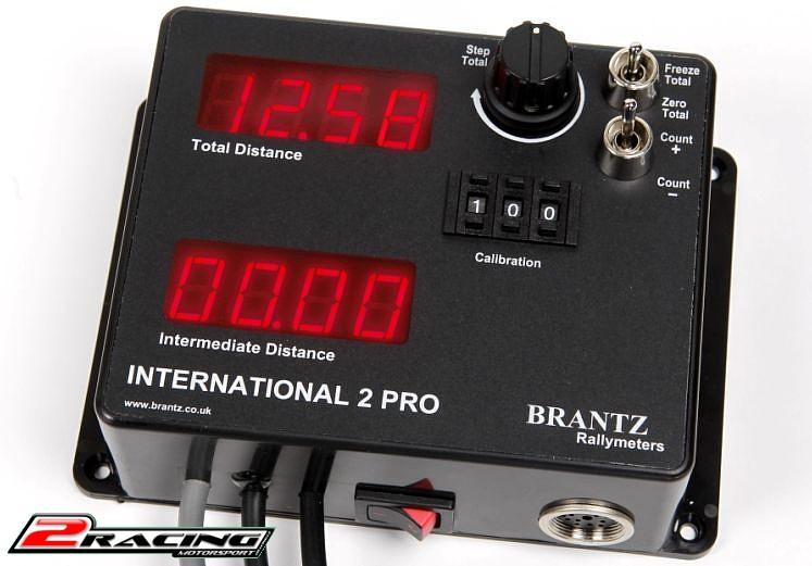 Brantz International 2 Pro Rally tripmaster počítač km pro spolujezdce