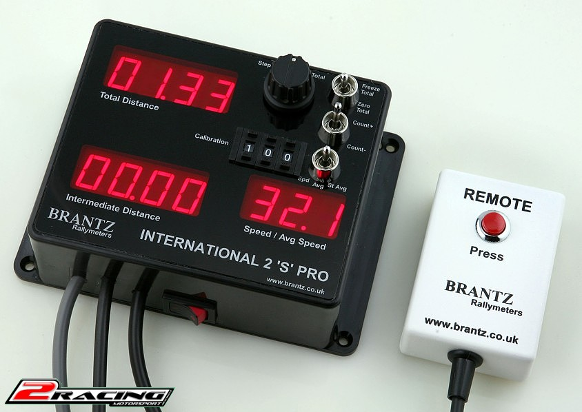 Tripmaster Brantz International 2S Pro BR7 rally meter