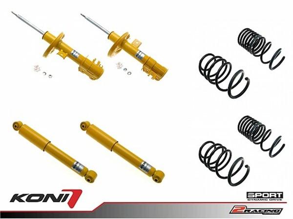 Sportovní podvozek Fiat 500 0.9 07-17 - 1140-0541 (4tlumiče+pružiny -25-30/-30-35mm)
