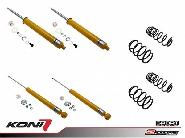 Sportovní podvozek Honda Civic (FN/FK) 1.4i 06-12 - 1140-1301 (4tlumiče+pružiny -30/-30mm)