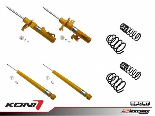 Sportovní podvozek Ford Focus hatchback 11/04-11 - 1140-1821 (4tlumiče+pružiny -40/-40mm)