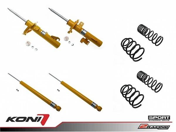 Sportovní podvozek Honda Civic (FD) 1.4i 06-12 - 1140-1867 (4tlumiče+pružiny -35/-35mm)