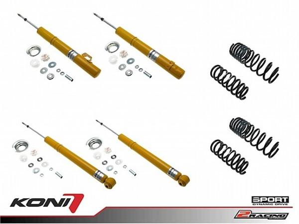 Sportovní podvozek Honda Accord sedan 2.0 03-08 - 1140-2811 (4tlumiče+pružiny -35/-35mm)
