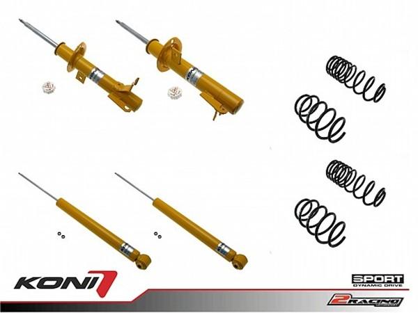 Sportovní podvozek Ford Fiesta V 04/02-08 - 1140-3171 (4tlumiče+pružiny -35/-35mm)