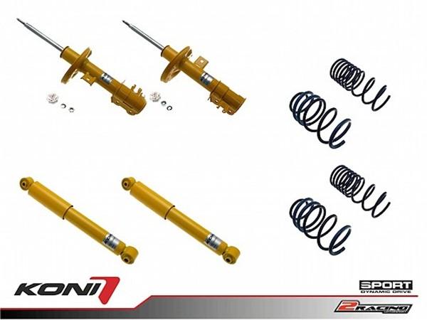 Sportovní podvozek Ford Ka 1.2 08-15 - 1140-9951 (4tlumiče+pružiny -35/-35mm)