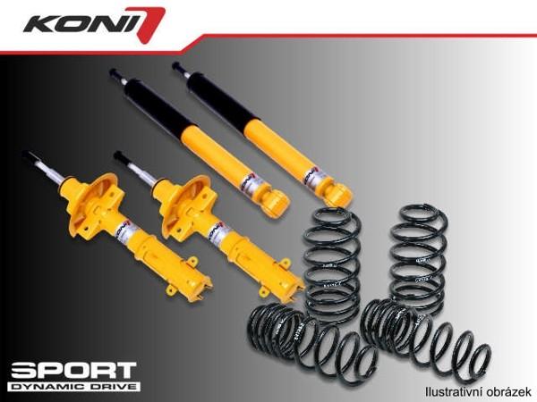 Sportovní podvozek Fiat 1.8 16V 95-00 - 1140-9761 (4tlumiče+pružiny -35/-35mm)