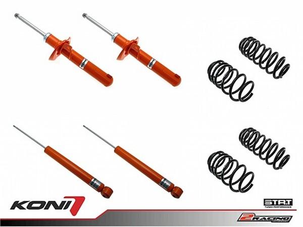 Sportovní podvozek Audi A3 05/03-12 - 1120-2613 (4tlumiče+pružiny -35/-35mm)