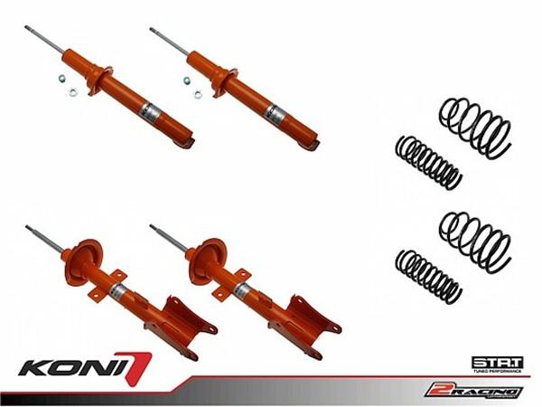 Sportovní podvozek Alfa Romeo 147 1.6TS 00-05/10 - 1120-3602 (4tlumiče+pružiny -35/-35mm)