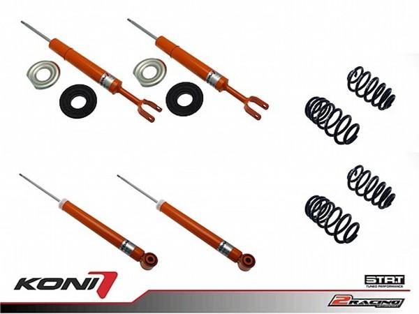 Sportovní podvozek Audi A4 Avant 10/01-07 - 1120-3692 (4tlumiče+pružiny -35/-35mm)