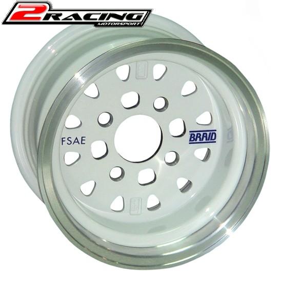 """Závodní Alu disk Braid TENRACE FSAE 5 až 8x10"""""""