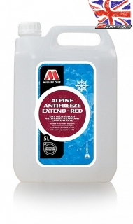 Chladící kapalina Millers Oils Alpine Antifreeze Extend - Red 5 L 56685