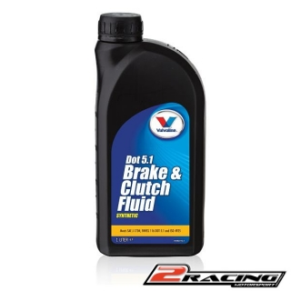 Brzdová kapalina Valvoline Brake and Clutch fluid DOT 5.1 1 litr (VE58024)