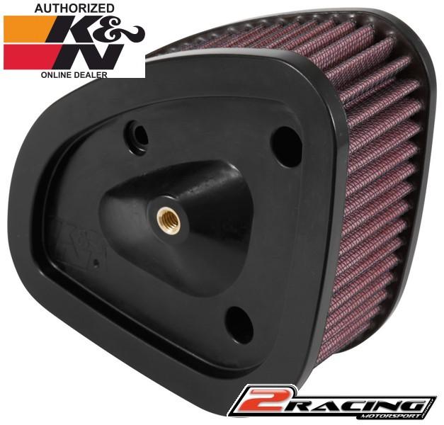 567cc27ed29 KN filtr Harley Davidson FLHR Road King HD-1717 sportovní vzduchový filtr,  vložka