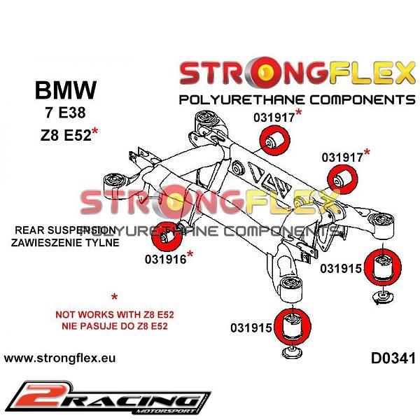 Bmw Z8 Rear: Zadní Vzpěra Sport BMW Z8 E52 (99-03) 031915A
